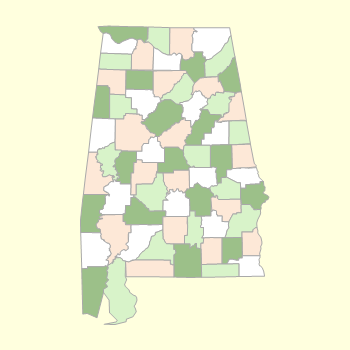 County Selection Map
